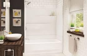 gallery ts 6030 alcove tub shower maax bath inc 60 x 30 x 74