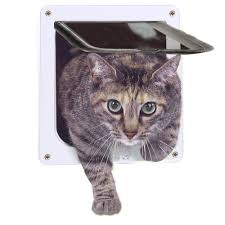 amazon com cat door 4 way locking pet door for interior doors