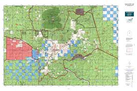 Map Az Arizona Gmu 11m Map Mytopo