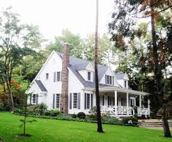 cape cod with front porch have long extended porches on both