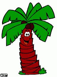 dessin palmier à colorier imprimer dessin palmier