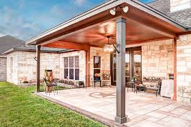 Outdoor Patio With Roof by Trends In Outdoor Living Areas Allied Outdoor Solutions