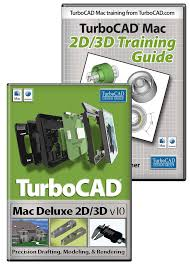 turbocad mac deluxe v10 and training bundle