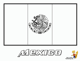 mexico flag coloring page fablesfromthefriends com