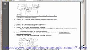 ford f150 2009 2010 service manual and workshop youtube