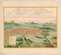 Mexico Map 1800 by This Is The Mexican Village Of Mexcaltitan It Is Built On An
