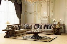 antique 7 living room sectional furniture sets on luxurious