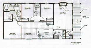 Simple 4 Bedroom Floor Plans Home Floor Plan Design Simple With Home Floor Decoration New At