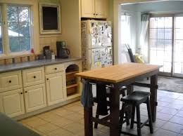 kitchen island cart with seating white kitchen island table