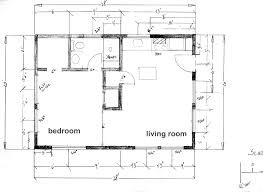 10 cottage house plan with 600 square feet and 1 bedroom from
