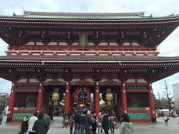 Big in Japan   TheSabins com The Adventures of the Sabins Senso ji is the oldest Buddhist temple in Tokyo  dating back to