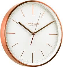 acctim 27698 rostock wall clock copper acctim amazon co uk