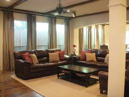 Living Room Decor Ideas For Small Spaces View Brown Sofa Decorating Living Room Ideas Small Home Decoration