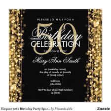 Birthday Invitation Cards Models 50th Birthday Invitation Ideas Themesflip Com