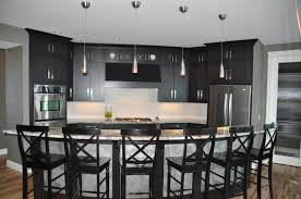 kitchen u0026 dining curved kitchen island makes shape accent in