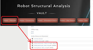 training manual for robot structural analysis pro 2015 autodesk