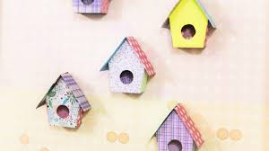 Home Decor Birds by Make Adorable Birdhouse Wall Decorations Home Guidecentral