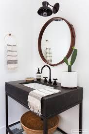 Modern Bathroom Design by Best 25 Round Bathroom Mirror Ideas On Pinterest Minimal