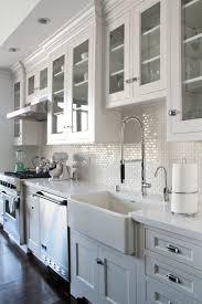 backsplash white kitchen tile thermoplastic subway wood