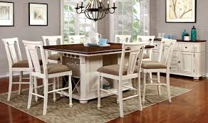 Counter Height Kitchen Islands White Counter Height Table Set 16068