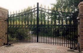 A Gated Community. A 6-year-old Outside for a Moment. Safe?