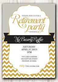 Invite Cards Fascinating Retirement Invite Cards 87 In Free Printable