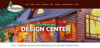Home Design Products Announcing Launch Of New Log Home Design Center Website