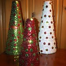 sequined christmas tree craft been there done that pinterest