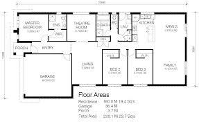 wide block house plans house plan