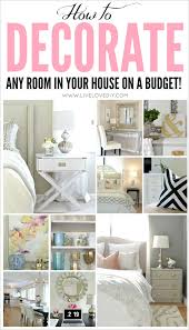 How To Decorate Your New Home by Livelovediy How To Decorate On A Budget Our House Tour