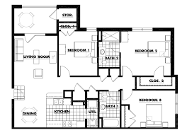 Small 3 Bedroom House Floor Plans by 100 Two Bedroom Homes Bungalow House Plans Philippines