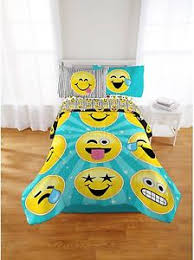 Full Size Bed In A Bag For Girls by Emoji Nation Forever Happy Bed In A Bag Bedding Set Full Size