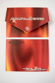 folded invitation raina astras
