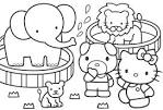 Hello Kitty Coloring coloring page
