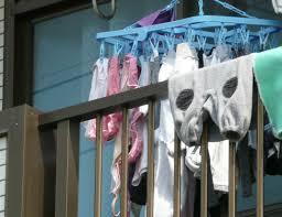 可愛い下着の洗濯物画像掲示板 彼女や嫁がガチ使用してるパンティーやブラジャーの洗濯物の素人下着エロ画像
