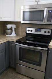 Painting Thermofoil Kitchen Cabinets Painting Melamine Kitchen Cabinets The Decorologist