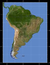 Map Of The South America by South America Detailed Topographical Map Detailed Topographical