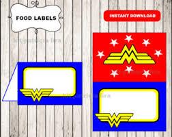 captain america logo food labels instant download captain