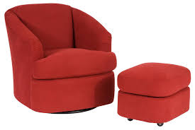 Club Swivel Chair Contemporary Barrel Swivel Chair By Smith Brothers Wolf And