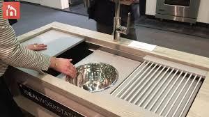 The Galley Kitchen Sink Workstation Home Decorating Trends Homedit - Sink designs kitchen