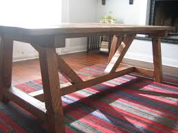 furniture solid wood farmhouse dining table round rustic
