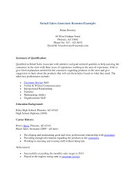 how to write a good resume summary resume for sales associate retail summary of qualifications sample resume resume summary for retail sales associate warehouse resume skills summary resume