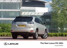 lexus uk rx the lexus rx 400h lexus uk media site