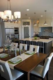 best kitchen dining combo ideas pinterest contemporary kitchen lighting white cabinets with dark grey island