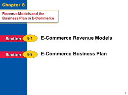 Revenue Models and the Business Plan in E Commerce Back to Table     SlidePlayer Revenue Models and the Business Plan in E Commerce Section     Why It     s