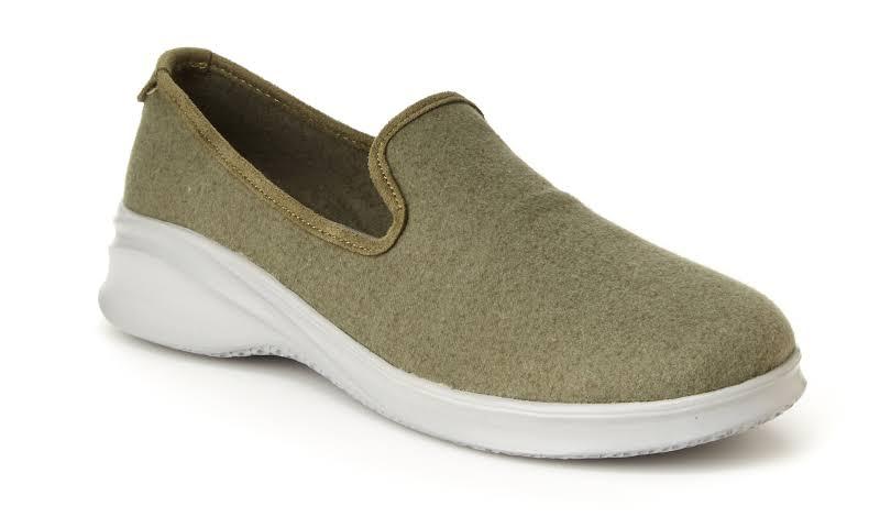 JSport by Jambu Loon Wool Fashion Sneakers Green 8.5 Medium (B,M)
