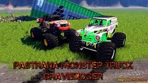 monster jam trucks 2014 pastana gravedigger monster trucks v1 0 for spin tires 2014