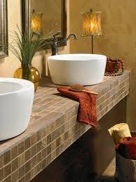 Tile Ideas For Bathroom Tile Bathroom Countertops Hgtv
