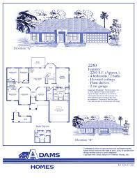 Home Floor Plans And Prices by On Your Lot In Lakeland Adams Homes