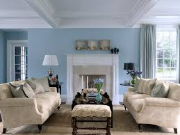White Furniture For Living Room Sky Blue And White Scheme Color Ideas For Living Room Decorating